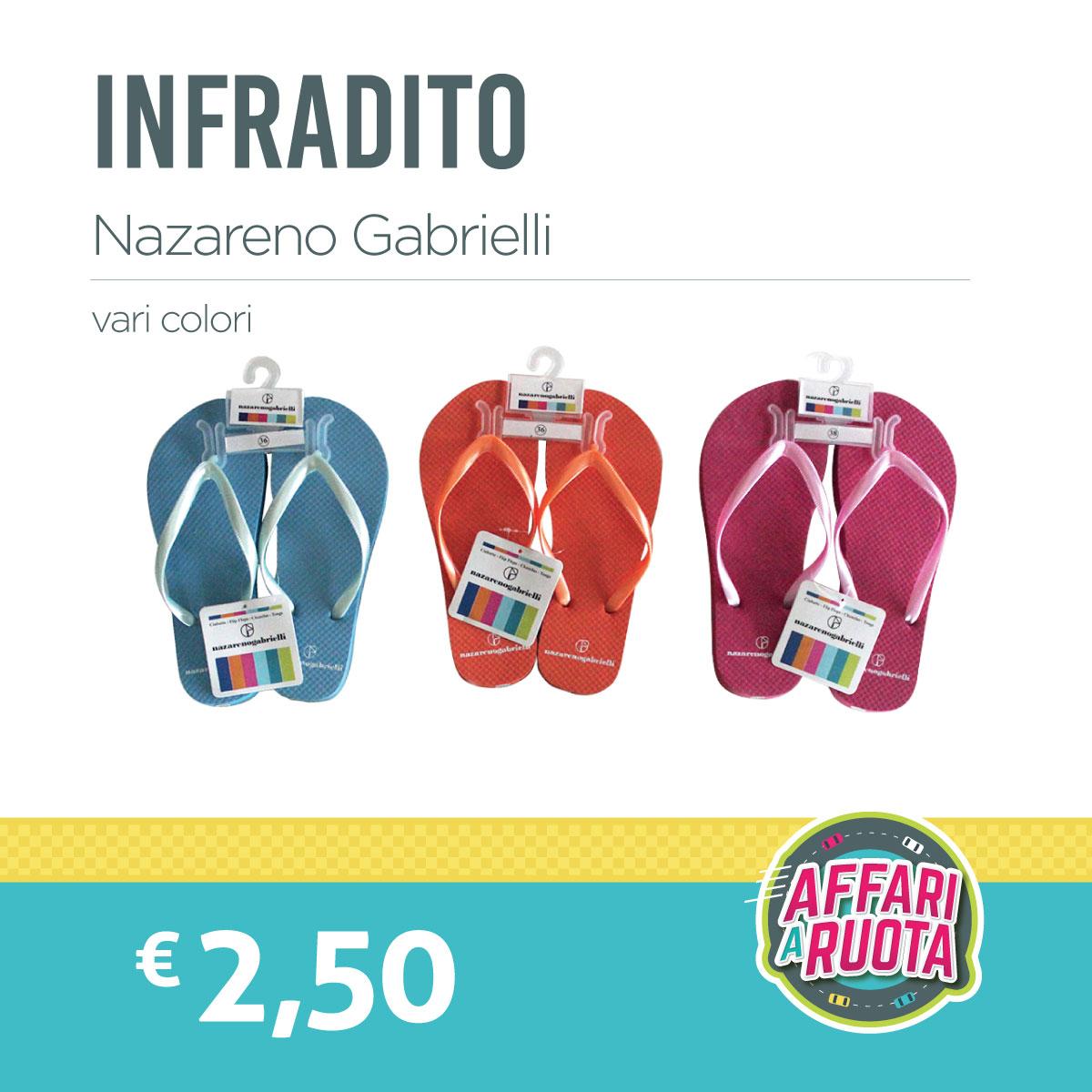 Infradito Nazareno Gabrielli