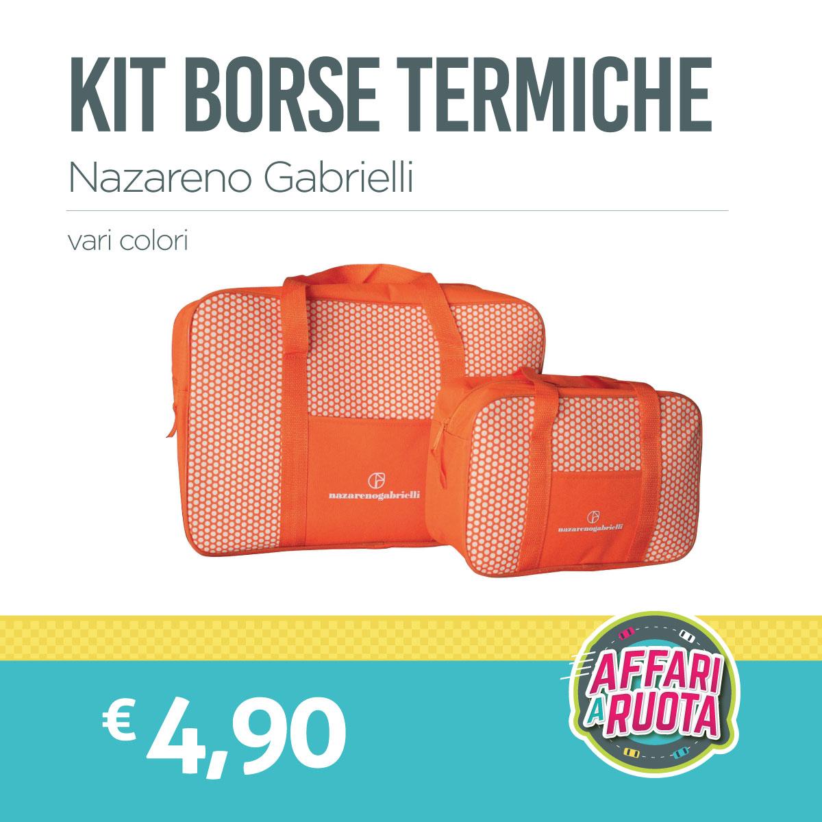 Kit borse termiche Nazareno Gabrielli