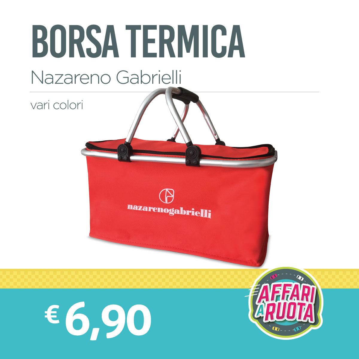 Borsa termica Nazareno Gabrielli
