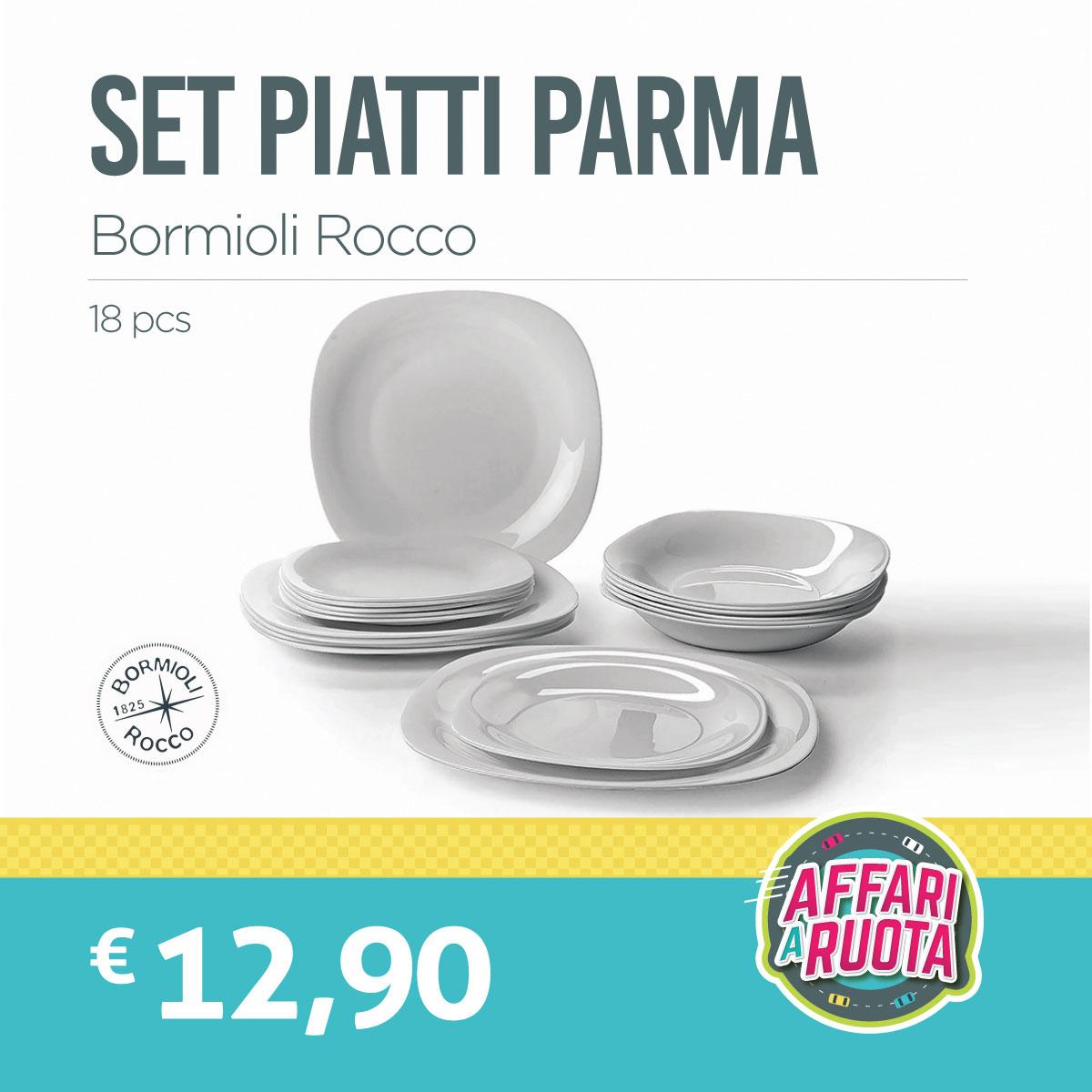 Set piatti Parma Bormioli Rocco