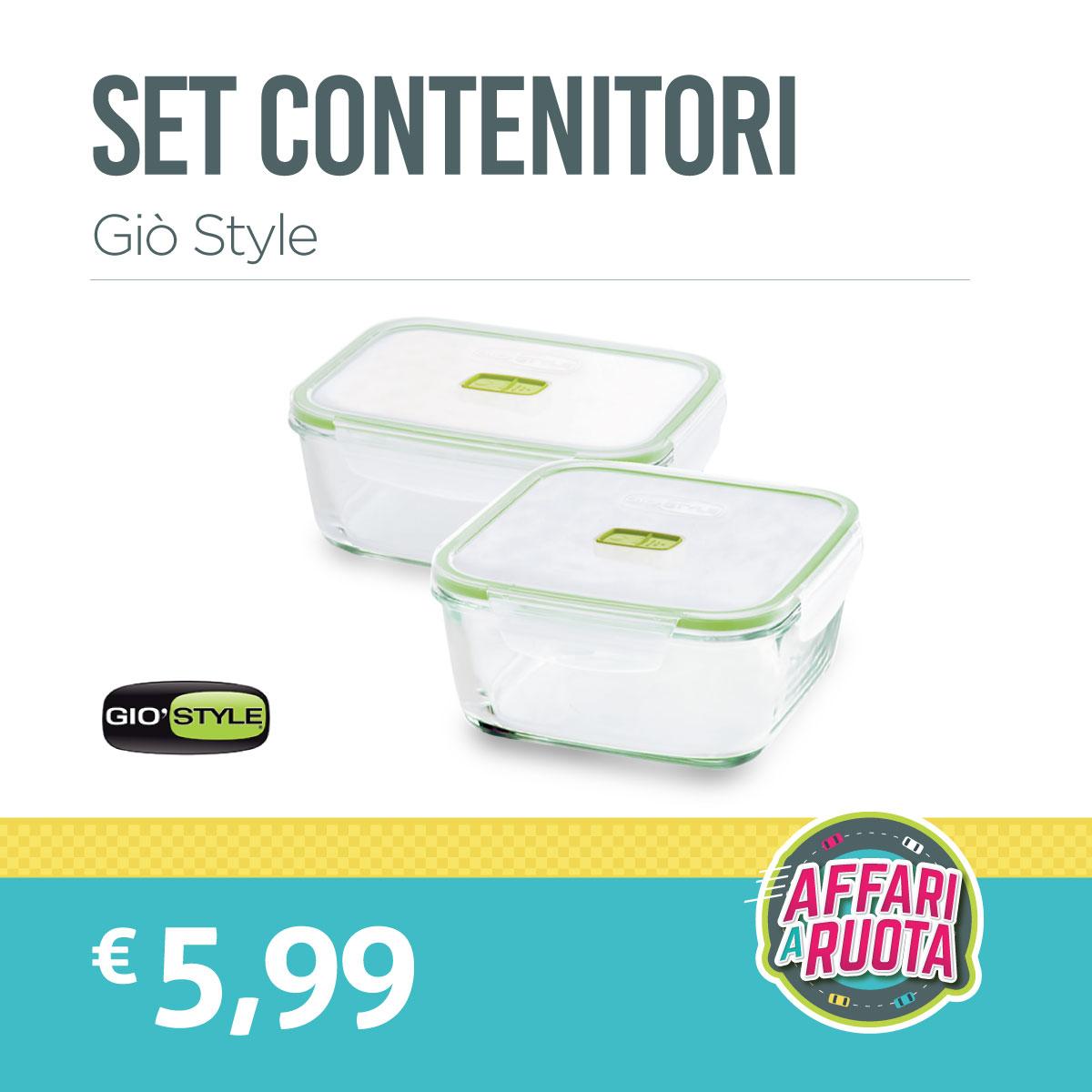 Set contenitori Giò Style